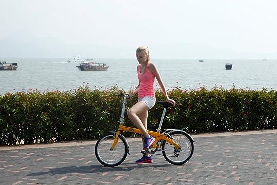 Ford by Dahon Convertible Bicicleta Plegable de 7 velocidades: Amazon.es: Deportes y aire libre