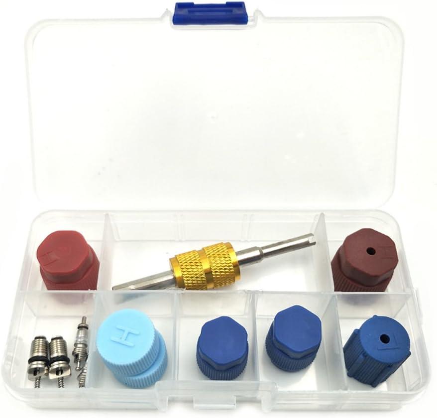 Nikauto 1 Set Auto Kappe Ventil Klimaanlage Dichtungs Kit R12 R134a Ersatzteile Auot Ac Kompressor Reparaturteile Baumarkt