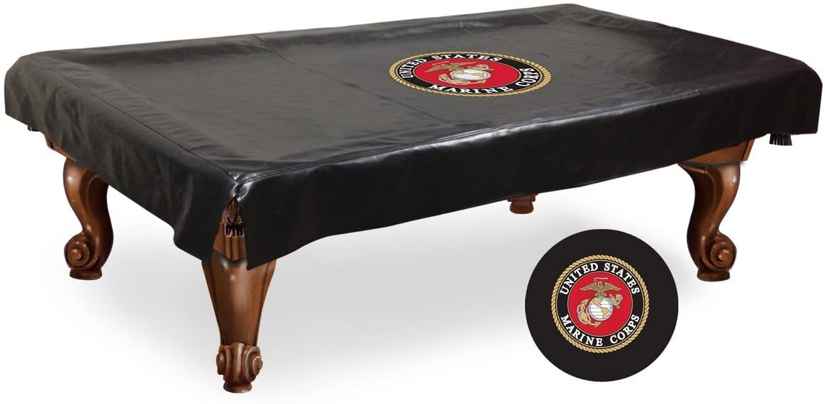 foto de Amazon.com: Holland Bar Stool Co. 7' U.S. Marines Billiard Table ...