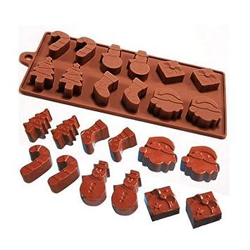 TAOtTAO - Molde de Silicona para decoración de Tartas de Hielo, Dulces, Galletas, Chocolate, A 22.3x10x1.4cm, About 22.5x22.5x4cm: Amazon.es: Hogar