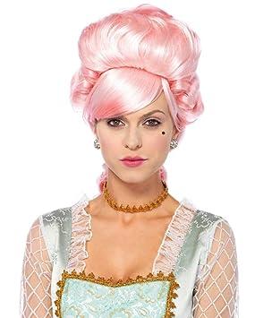 Horror-Shop Peluca Pastel Marie Antoinette