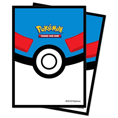 Ultra Pro E-85450 Deck Protectors-Pokemon Ball 65 Pack: Toys & Games