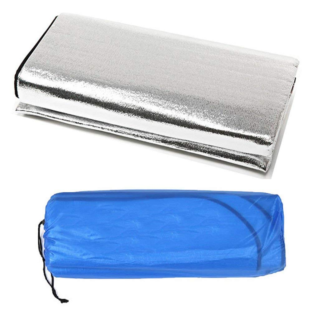 forfar Outdoor Camping Picnic Sleeping Mattress Pad Waterproof Aluminum Foil EVA Mat Moistureproof