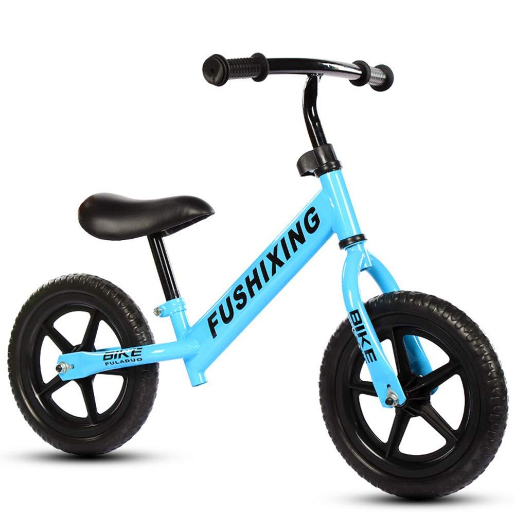 barato y de alta calidad azul azul azul XUE Bicicleta de Equilibrio, Ajustable niño Corriendo Ruedas de Goma de la Bici y no Pedales Primera Bicicleta para Las Edades 2-6 Manillar Ajustable y Asiento  entrega rápida