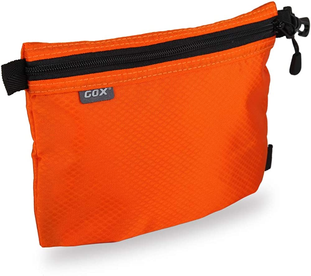 GOX Carry On Zipper Pouch Toiletry Bag Packing Sack Makeup Bag Digital bag-Size Small