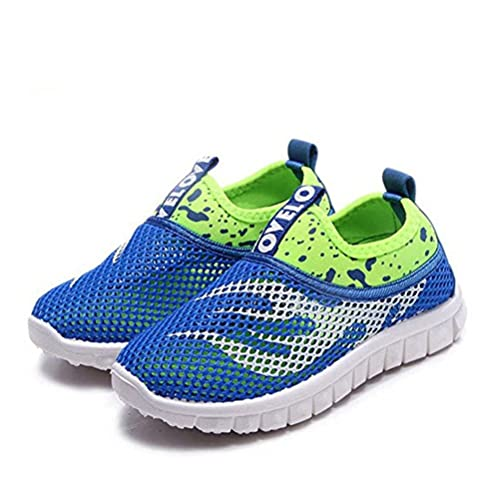 cb584b431 Kids Trainers Breathable Mesh Slip On Outdoor Walking Running Water Shoes  Boys Girls Sneaker Sandals Pool