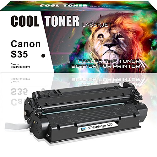 Canon Laser Oem Cartridge (Cool Toner 1 Pack Compatible for Canon S35 S-35 Cartridge 7833A001AA Black Toner Cartridge for Canon ImageClass D300 D320 D340; FAXPHONE L170; ImageClass MF3240; PC-D320 D340 Printer)