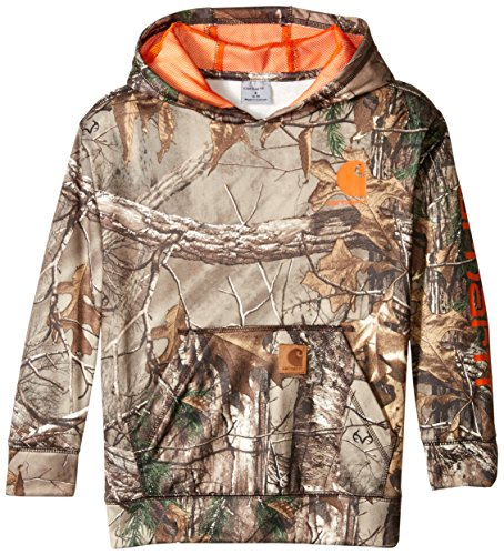 Carhartt Big Boys' Camo Sweatshirt, Realtree Xtra, Medium