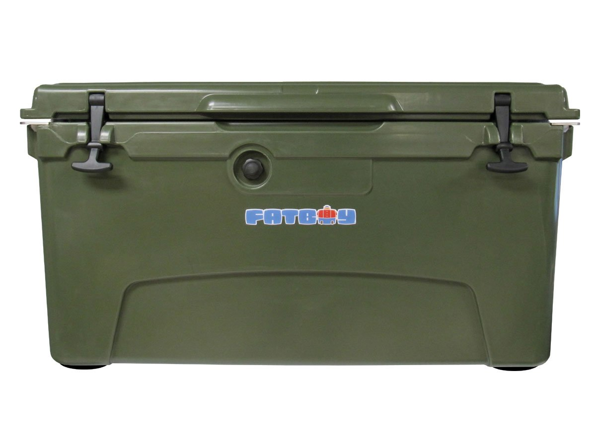 Fatboy 75QT Rotomolded Chest Ice Box Cooler Dark Green by Fatboy