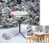 New Allied Precision 20 In. Non-heated Bird Bath W/Metal Stand 150 Watts High Quality Modern Design