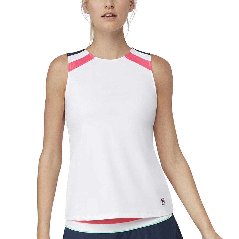 64cb303c836 Amazon.com  Fila Women s Court Allure Racerback Tank  Clothing