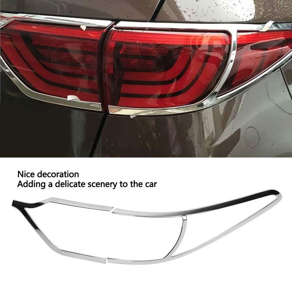 Broco 4 piezas de la cola del coche l/ámpara de luz trasera de la cubierta for el ajuste de la decoraci/ón Kia Sportage KX5 QL 2015-2018