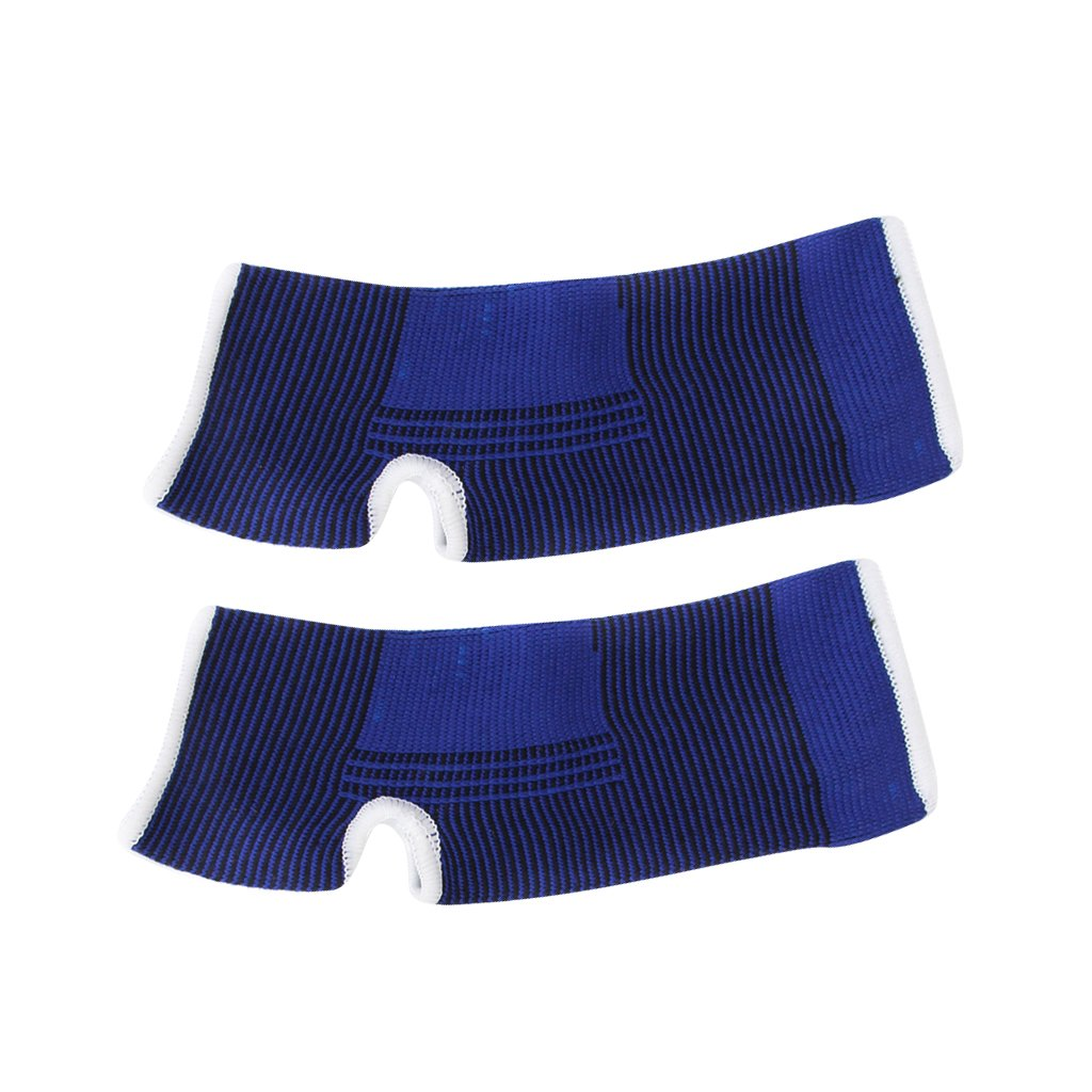 Footful 1 Pair Ankle Support Braces for Sports/Sprains/Arthritis/Injuries---Blue