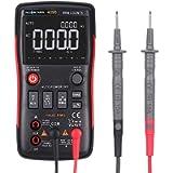 Festnight RICHMETERS RM409B True-RMS Digital Multimeter Button 9999 Counts with Analog Bar Graph Temperature Sensor Test…