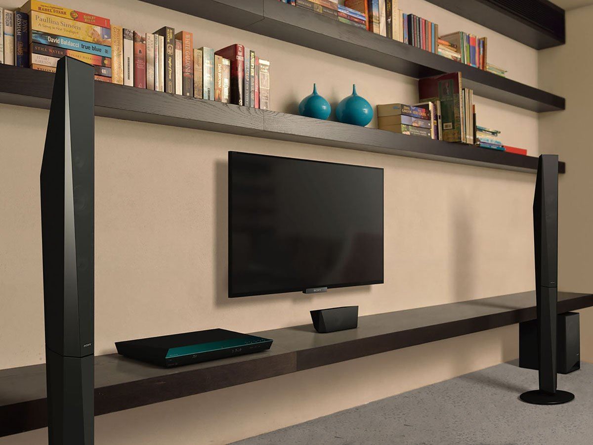 Equipo de Home Cinema 3D 5.1 de 1000W negro HDMI importado Sony BDV-E4100