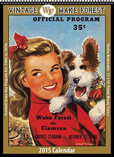Wake Forest Demon Deacons 2015 Vintage Football Calendars (Calendar Forest Wake)