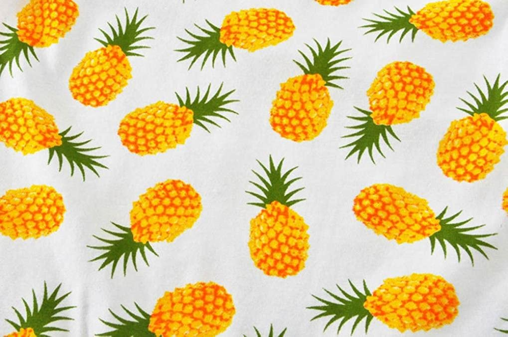 Digood For 0-24 Months Baby Newborn Infant Baby Girl Pineapple Romper Jumpsuit Fashion Clothes