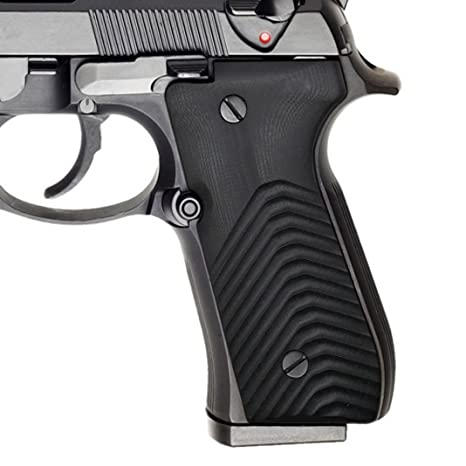 EXEL G10 Grips for Beretta 92/96 Full Size, 92fs, m9, 92a1, 96a1, 92 INOX,  Wave Texture, Cool Hand Brand