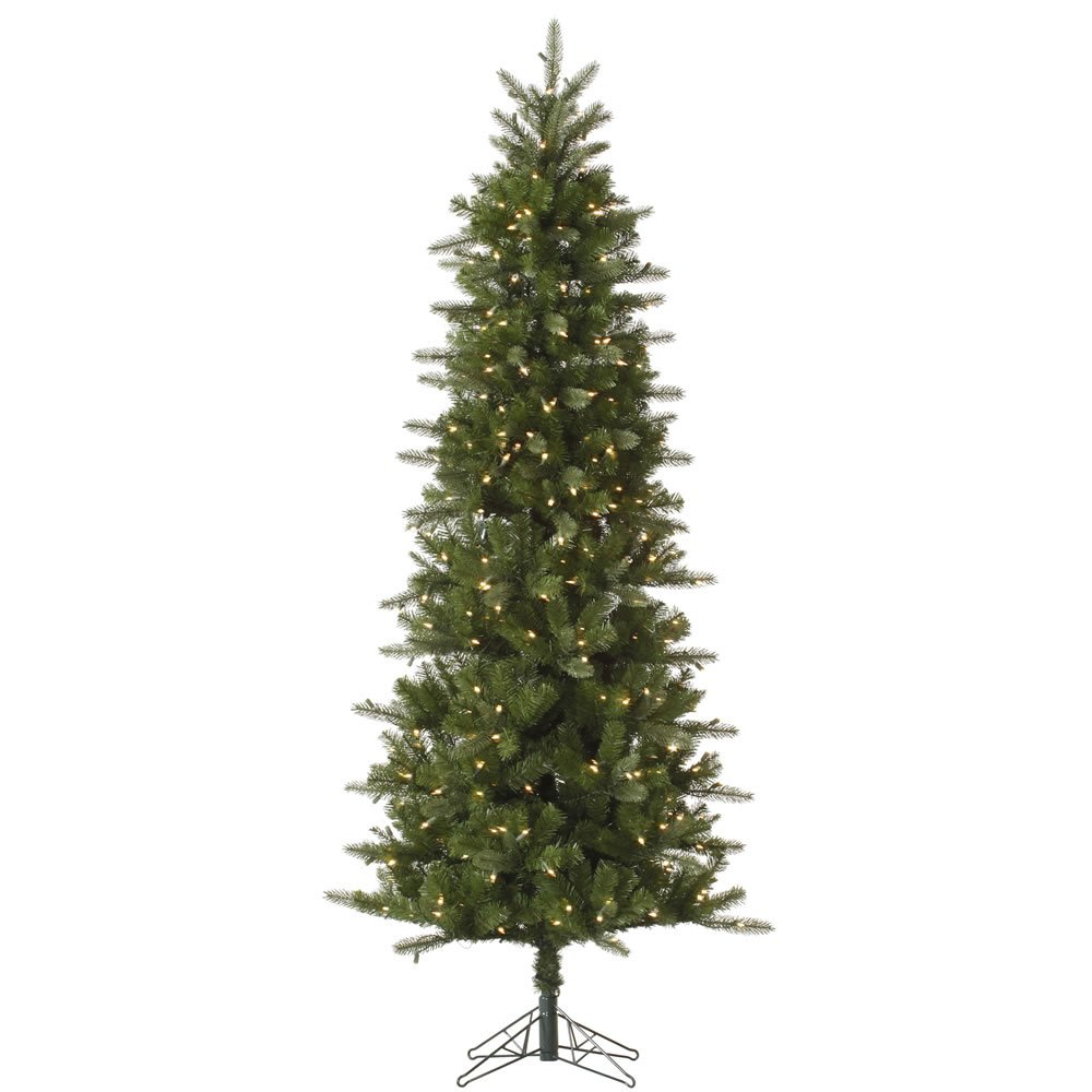 Vickerman 9' Carolina Pencil Spruce Artificial Christmas Tree with 500 Clear lights
