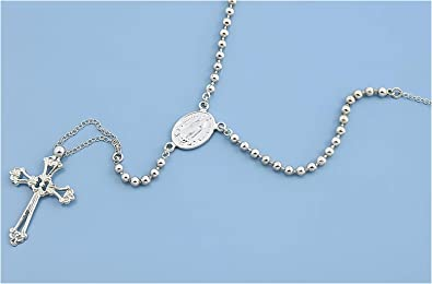 Italian Chain, Rope 035 Jewelry Gift for Women and Girls Glitzs Jewels 925 Sterling Silver Necklace