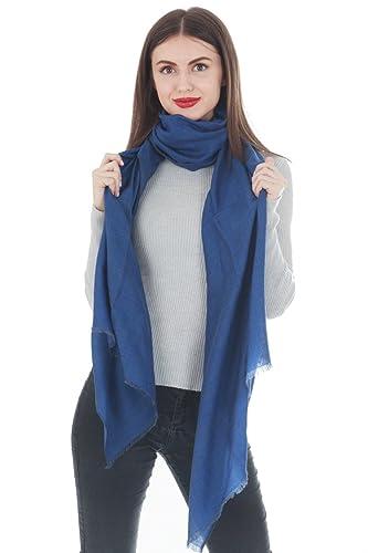 Cashmere 91 - Bufanda - para mujer azul azul Talla única