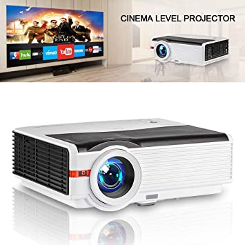 HD LED Projector 5000 Lumen Multimedia Video Proyector Max 200