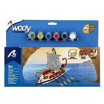 Artesanía Latina 30508 - Maqueta en madera de barco: Ave Caesar Romano