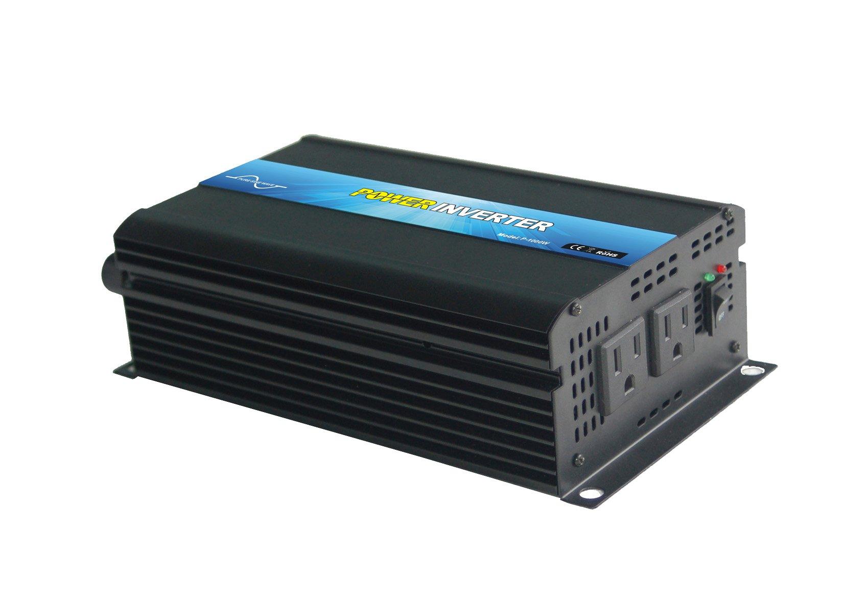 NIMTEK NL1000 Pure Sine Wave Off-grid Inverter, Solar Inverter 1000 Watt 48 Volt DC To 110 Volt AC