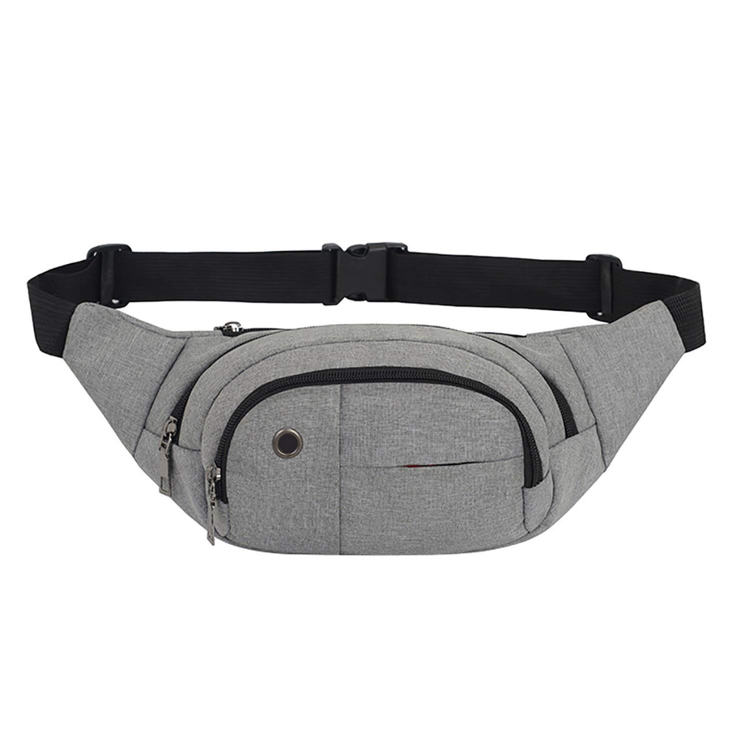 MenS And WomenS Couples Students Messenger Bags Sports And Leisure Multi Type Zipper Chest Bag,F