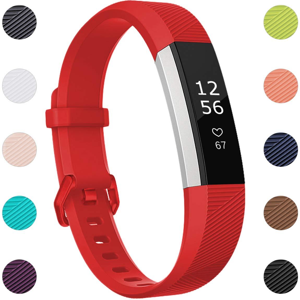 Malla Para Reloj Fitbit Alta / Fitbit Alta Hr / Ace (roja)