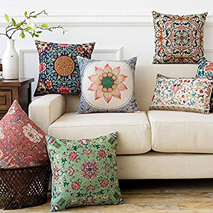 Buy AEROHAVEN Velvet Cotton Turkish Designer Decorative Throw Pillow Simple Designer Decorative Throw Pillows