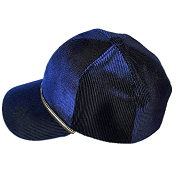 geiqianjiumai Beanie original superfeine Docht Samt Baseballm/ütze blau one Size