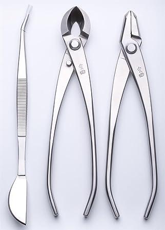 3 pcs Bonsai herramienta Set jttk-20 Jin alicates/cortador de borde redondeado/