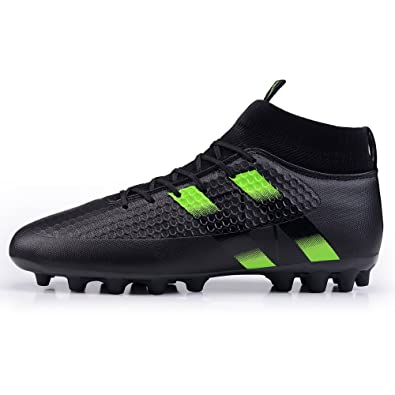 845fdd79d BEVEMON Man Soccer Shoes Football Boots Cleats High-top Mesh Sock Shock  Buffer Outdoor Lightweight