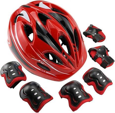 HUJU Protecciones Casco Infantiles Skate Bicicleta Monopatín ...