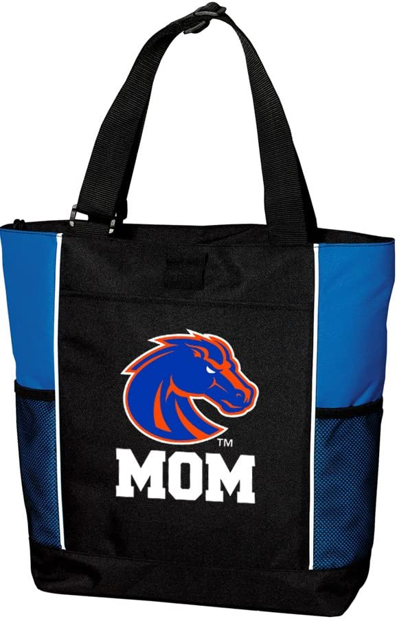 Broad Bay Boise State University Mom Tote Bags TOP Boise State Mom Totes