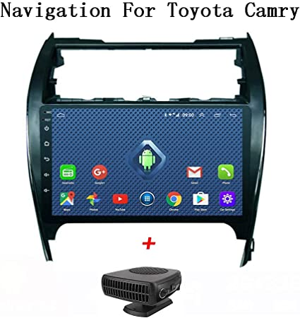 XBRMMM Radio Coche con Navegación GPS Android 8.1,TV Estéreo con Pantalla Táctil 9