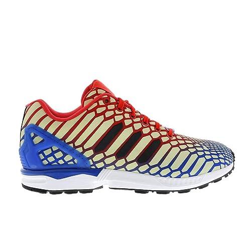 adidas Originals ZX Flux Weave Herren Sneakers, Grau: Amazon