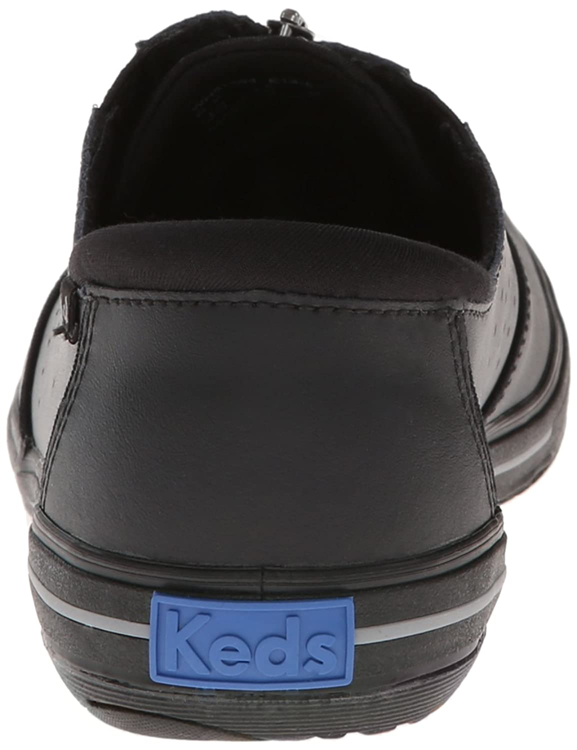 keds leather shoes with zipper
