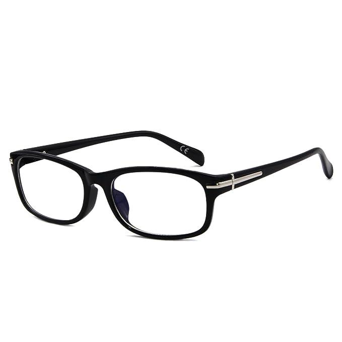 AMZTM Computadora Lectura Anti Luz Azul Gafas Por Mujer Y Hombre Anti UV400, Deslumbramiento, Radiación Y Reflexivo, Aliviar Ojos Fatiga