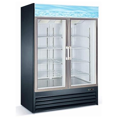 Amazon D768bm2f Commercial Upright Glass Door Display