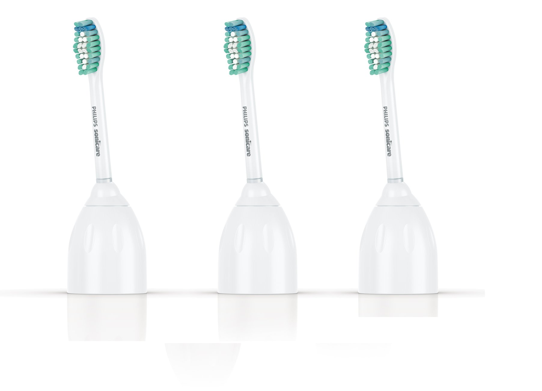 Philips Sonicare E-Series replacement toothbrush heads, HX7023/30, 3-pack