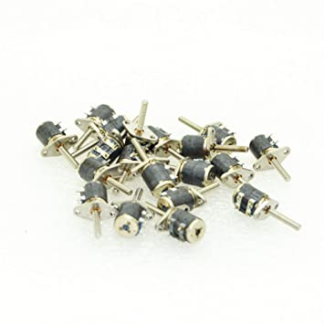 15 Stück 2 Phase 4 Draht Stepper Motor 6 mm Micro Stepper Motor ...