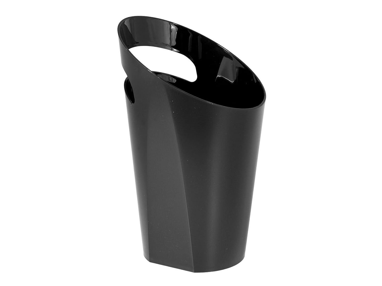 KUNGYO Bonde Pop Up Automatique Bonde Lavabo avec Trop Plein pour Evier Lavabo Pipe en Bronze Laveuse Triple Silicone Gros Couvercle 4.1 cm Taille Universelle Noir