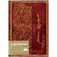 paperblanks 爱尔兰 装饰原图系列笔记本威廉·莎士比亚 :MIDI横线