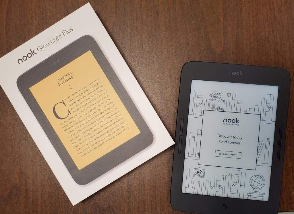 "Barnes Noble NOOK GlowLight 3 eReader 6"" model -8GB"