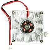 Jiamins - Ventilador de Repuesto para Tarjetas Gráficas, Ventilador de Refrigeración DE 40 mm, 2 Pines, PC GPU VGA, disipador de Calor 12 V, 0,10 A