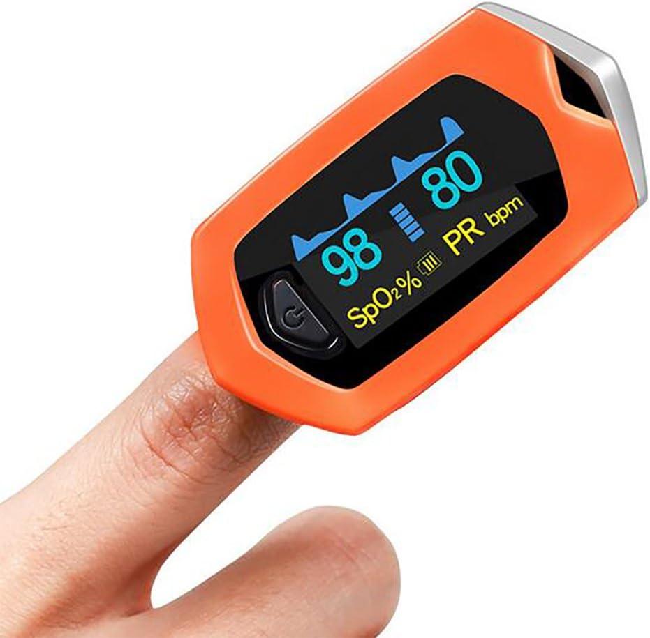 Oxímetro De Pulso Del Dedo Pulsioximetro Spo2 PR OLED Recargable CE Oximetro De Dedo Monitor De Frecuencia Cardíaca Médica