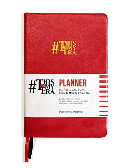 6d584bc14c454 A5 Daily Planner   Journal  Durable Smart Goal System Tracker with  Inspirational Quotes