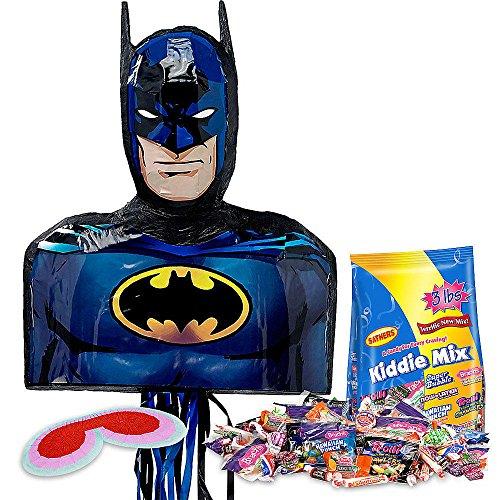 [Batman Dark Knight Shape Pinata Kit] (Pinata And Bat Costume)